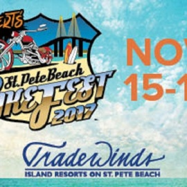 St. Pete Beach BikeFest Coming To Tradewinds Resort November 15-19