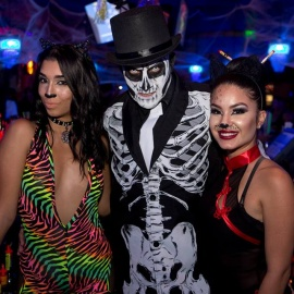 Mango's Tropical Cafe Hosts Hip Hop Masquerade Halloween Party In Orlando