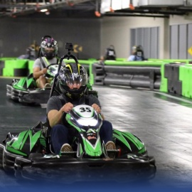 Rev Up For A Great Time At The New Andretti Indoor Karting And Games On International Drive