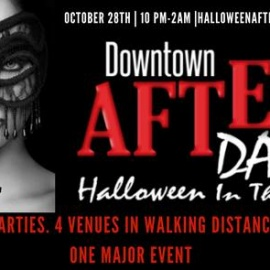 Frighteningly Fun Parties in Tampa During Downtown After Dark Halloween In The City