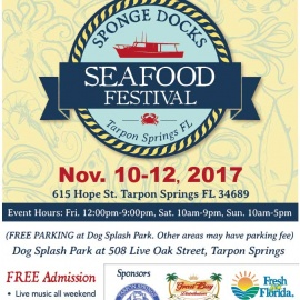 Soak Up the Fun at the 30th Annual Sponge Docks Seafood Festival