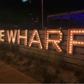 It's a Restaurant, It's a Nightclub; It's The Wharf