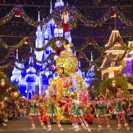 Christmas at Disney World in Orlando