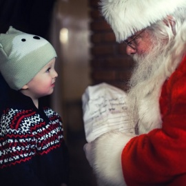 Where to See Santa in Gainesville This Christmas Season