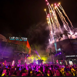 New Year's Eve at Universal Studios