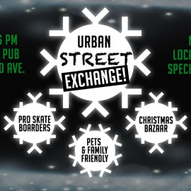 Urban Street Exchange Skates Over to MacDinton's on December 9th