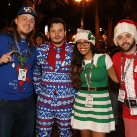 Guys with Ties - 12 Bars of Christmas Pub Crawl