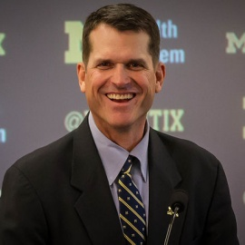 Is Michigan's Jim Harbaugh Interested In Coaching The Tampa Bay Buccaneers? He's Not Saying