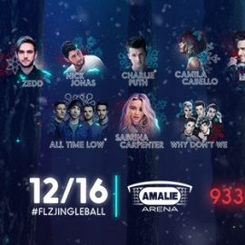 2017 Jingle Ball Concert at Amalie Arena on December 16th
