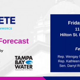 St. Pete Chamber To Host Legislative Forecast on December 15th