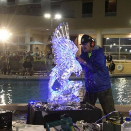 The Frost Is Going To Fly At The Rosen Plaza Iced Out Event