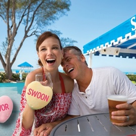 Escape This Valentine's Day with a Passionate Sip, Savor & Swoon Package