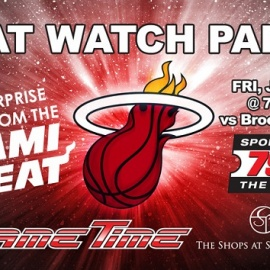 GameTime's Epic Miami Heat Watch Party is Saturday, January 19th