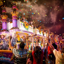 Party Nola style at Universal Citywalk's Mardi Gras Concert Series
