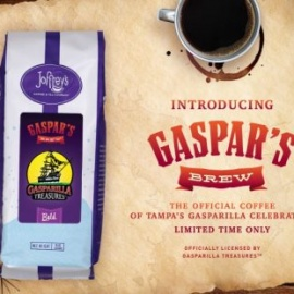 Joffrey's Coffee Creates 'Gaspar's Brew' to Celebrate Gasparilla in Tampa
