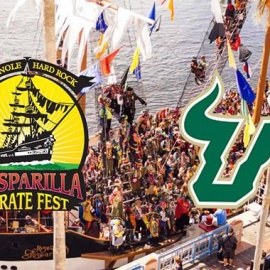Tickets Available for Party Busses to Gasparilla 2018!