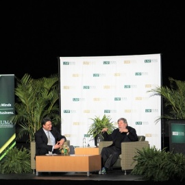 Apple Inventor Steve Wozniak Speaks at USF Emphasizing People Over Technology