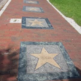 Calle Ocho's Latin Walk of Fame in Little Havana