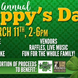O'Brien's Irish Pub of Brandon Hosts Fun Filled 'St. Puppy's Day' on March 11th