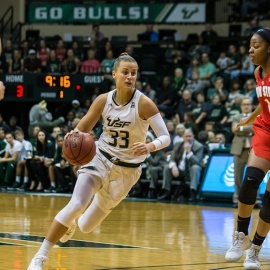 USF Women's Basketball Disappointed in #6 Seed in NCAA Tournament