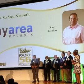 USF Fast 56 Awarded to MyArea Network 2nd Year in a Row
