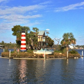 The Famous Monkey Island in Homosassa