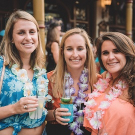 Church Street Bars Throws Get Lei'd Luau Party at Latitudes Orlando