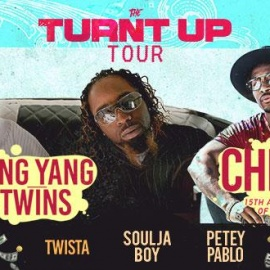 Turnt Up Tour With Ying Yang Twins, Chingy, & More Heads to Tampa at USF Sun Dome