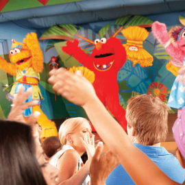 Meet and Greet Famous Kid-Friendly Characters at Busch Gardens Sesame Street Safari of Fun