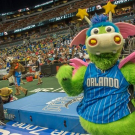 Orlando Magic's STUFF Hosts The 2018 Mascot Games At The Amway Center