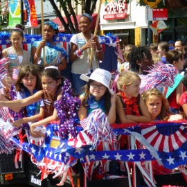 Fourth of July Parades Around Austin