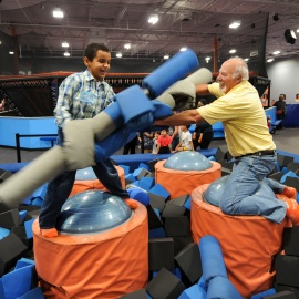 Beat the Heat and Rain This Summer! Have some healthy fun at Sky Zone!