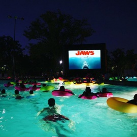 Winter Park Dive In Movie Makes A Splash With The Return Of 'Jaws' Feature