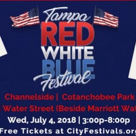 Red, White and Blue Festival Returns To Downtown Tampa Wednesday, July 4