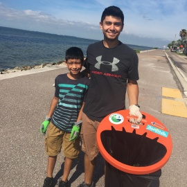 After the Fireworks Cleanup in Tampa Bay Helps Save Tampa Bay Waterways