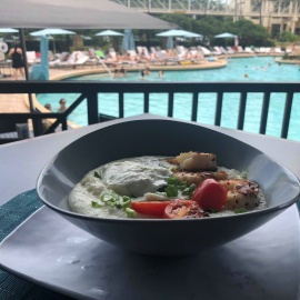Sip, Swim, And Enjoy The Rosen Plaza Poolside Brunch In Orlando