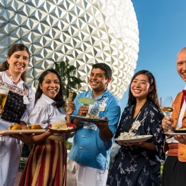 23rd Epcot International Food And Wine Festival Serves Up 75 Days Of Global Fare