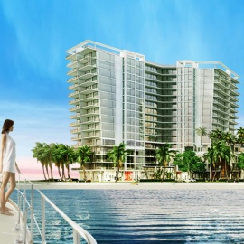Waterfront Views, Deepwater Access and Deluxe Residences Define Tampa's New Westshore Marina District Development
