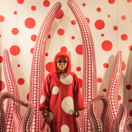 Yayoi Kusama's Trendy Infinity Rooms Exhibit is at  the Tampa Museum of Art Through February 2019
