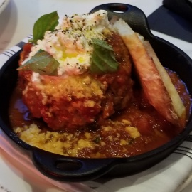 Kobe Meatball at Osteria Tampa