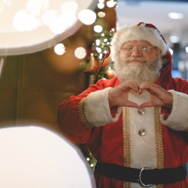 Where to See Santa in Austin