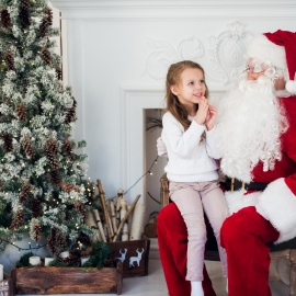 Santa Sightings | Pictures with Santa in Orlando