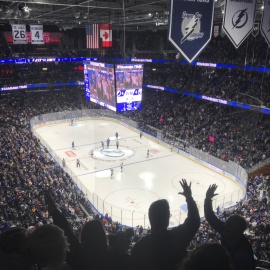 The Lightning and Sabres Played One Heck of a Hockey Game