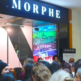 Hundreds of Makeup Enthusiasts Show up for Morphe Store Opening in Tampa