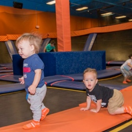 Toddler Time at Sky Zone Tampa is All Sorts of Fun for Your Little One!