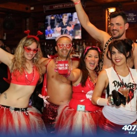 Cupid's Undie Run Streak For Charity Continues