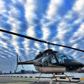 High Flying Fun Aboard Charm City Helicopter Tours Provide Passengers Incredible Bird's Eye Views of Baltimore and Annapolis