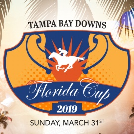 High Stakes and High Octane Excitement at Tampa Bay Downs' Florida Cup Day!