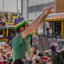 Mardi Gras Beads, King Cakes, and Parades - Experience Carnival Season a Gulf Coast Tradition - 2019 Gulf Coast Parades