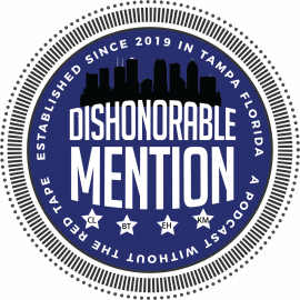 Dishonorable Mention Podcast Episode 8: Guest Host State Representative Jennifer Webb, Presidential Candidates, and Music Eras